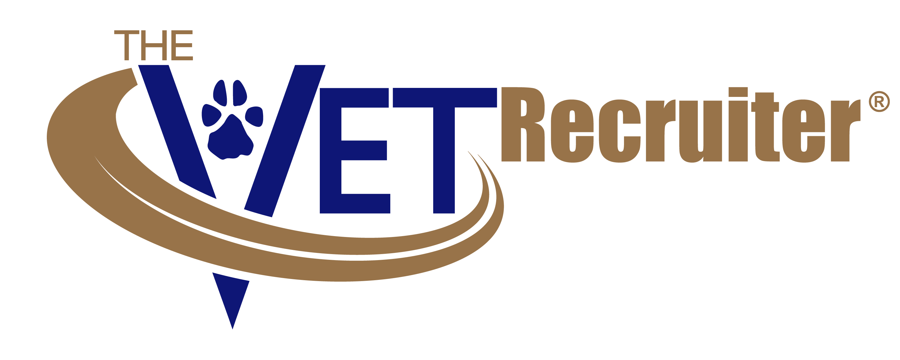 the vet recruiter logo 2 color